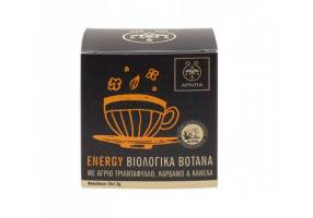 Apivita Organic Herbal Tea Energy, 10 Sachets x 1,5gr