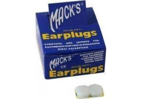 MACK'S EARPLUGS - Ωτοασπίδες Σιλικόνης 2τμχ