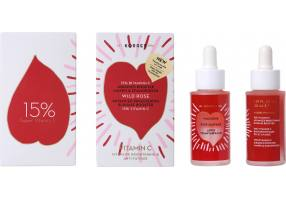 Korres Wild Rose Two-phase Booster for Glow & Remedy with 15% Vitamin C, 30ml