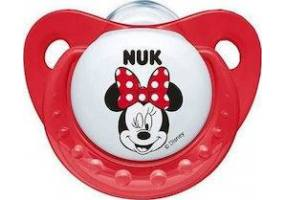 Nuk Trendline Disney Mickey Silicone Pillow with Kick, 0-6 Months, 1 Piece