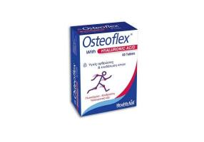 Health Aid Osteoflex with Hyaluronic Acid Strong Formula for Healthy Joints & Hydrating Tissue, 60 tabs