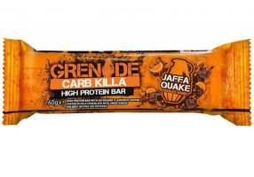 DukanGrenade Carb Killa Jaffa Quake Protein Packed Snack, 60 gr