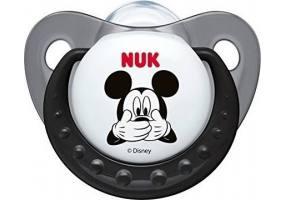 Nuk Disney Baby Mickey Silicone Gray 6-18m 1pcs