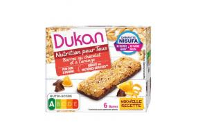 Dukan Oat Bar with Chocolate & Orange (6x25gr) 150gr