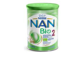 Nestle Nan Bio 2 Γάλα Δεύτερης Βρεφικής Ηλικίας σε σκόνη από 6 μηνών, 400gr