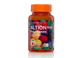 Altion Kids Polyvitamins Multivitamin Vitamin & Minerals Supplement, 60 jelly