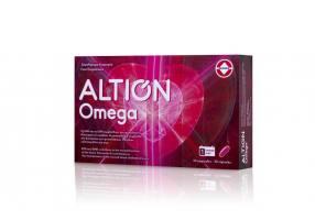 Altion Omega Συμπλήρωμα Διατροφής για τη φυσιολογική λειτουργία της καρδιάς, 30caps