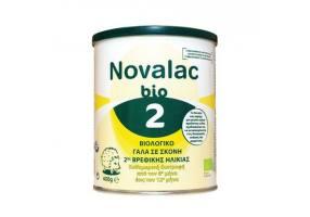 Novalac Bio 2 Βιολογικό Γάλα σε Σκόνη 2ης Βρεφικής Ηλικίας από τον 6ο ως 12ο μήνα, 400g