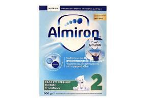 Nutricia Almiron 2 Γάλα 2ης Βρεφικής Ηλικίας 6-12 μηνών, 600g