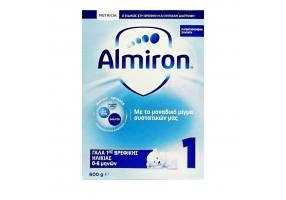 Nutricia Almiron 1 Γάλα 1ης Βρεφικής Ηλικίας 0-6 μηνών, 600g