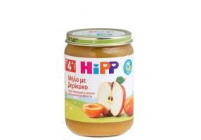 Hipp Φρουτόκρεμα Βιολογικής Καλλιέργειας με Μήλο & Βερίκοκο, 190g