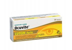Bausch And Lomb Ocuvite Lutein Forte 30tabs